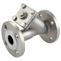 Wholesale asme b 16.34 stainless steel y strainer,ss316,3inch flanged end,class 150LB,drain plug from china suppliers