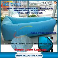 China factory detect sale fast inflatable lazy bag out door lazy air