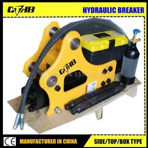 Wholesale korea soosan series hydraulic breaker manufacturer in China CE certificate excavator hammer soosan SB81 hydraulic breake from china suppliers