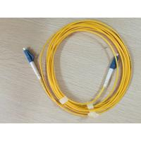 Buy cheap LC/UPC connectors Simplex SM Fiber Optic Patch Cord from wholesalers