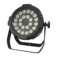 Wholesale High Lumen 24x10W IP56 Aluminum RGBW 4in1 DMX LED Silent Flat Par Concert Light from china suppliers