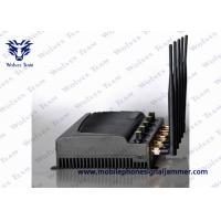 Black Cover Wifi Signal Jammer Easy Carrying Large Jamming Range 40 Meters
