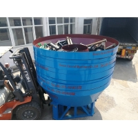 Wholesale Ore Dressing Double Wheels Gold Wet Pan Mill from china suppliers