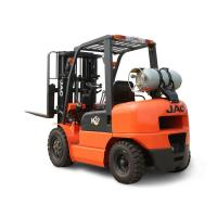 Wholesale Efficient Dual Fuel Forklift , Load Capacity 3 Ton Gasoline Lpg Forklift from china suppliers