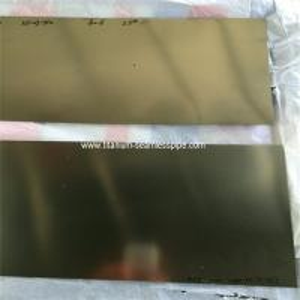 Wholesale ASTM F2063 NITINOL PLATE,NiTi sheet,SUPER ELASTIC Nitinol plate sheet 1.0mm thick from china suppliers