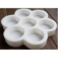 Wholesale Round Soap Moulds Silicone Flower Pattern Rubber Molds Seven Cavities Handmade Soap from china suppliers