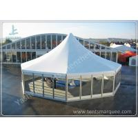 Wholesale Octagonal Outdoor canopy gazebo tent Transparent Glass Wall and Door 3m Side Length from china suppliers