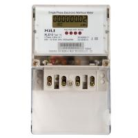 Single Phase Meter Mechanical : Single phase din rail active electronic energy meter