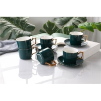 Wholesale Handgrip 380cc Embossed Blank Plain Fine Porcelain Coffee Mugs from china suppliers