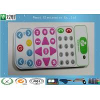 Wholesale Control Keypad Flat Membrane Switch Keypad No Embossing With 0.20mm PET Overlay from china suppliers