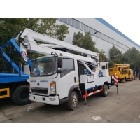 Wholesale Howo 4x2 Driving 5 Tons HLW5050GJKE Aerial Work Truck Sinotruk Aerial Truck from china suppliers