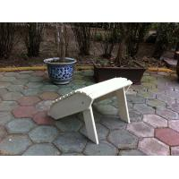 Buy cheap plasticwood ottoman from wholesalers