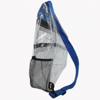 Wholesale Simple PVC Transparent Shoulder Bag OEM For Teenager from china suppliers