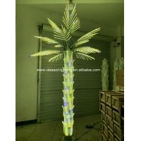 Wholesale color changing led palm tree light from china suppliers