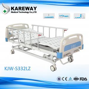 Cold - Roll Steel Manual Hospital Bed Plastic Cranks , Orthopedic Hospital Bed