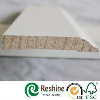 Wholesale Primer home decoration building profiles finger joint wood moldings from china suppliers