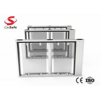 Wholesale Stainless Steel Pedestrian Barrier Gate Pedestrian Access Swing Turnstile Gate from china suppliers