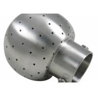 Wholesale Durable Din 11852 Fittings , Rotating Cip Spray Balls Stainless Steel TP316/1.4404 from china suppliers