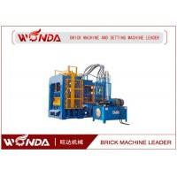 Stock Automatic Brick Making Machine , Hydraulic Solid Bricks Manufacturing Machine