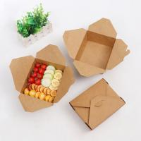 Wholesale Folding Takeaway Food Boxes Environmental Protection Various Size Available from china suppliers