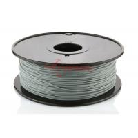 Wholesale Ultimaker 3D Printer PLA Filament 1.75MM Silver , ABS / HIPS Filament from china suppliers