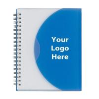 Wholesale PVC / PP Cover Custom Printed Spiral Notebooks Size 5.25 * 8.25 Inches from china suppliers