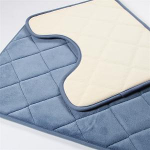 Wholesale OEM 600G Memory Foam Shower Mat Nonslip Bathroom Rug from china suppliers