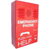 Wholesale Red Auto Dial Emergency Push Button Telephones , Caller ID SOS Phone from china suppliers