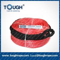 Wholesale TOUGH ROPE Dyneema 12v synthetic small hand winch cable SUV all-terrain vehicle rope from china suppliers