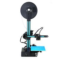 Wholesale HICTOP Portable Easy assembly 3D Printer DIY Kit with Heated Build Plate, Includes Micro SD card 150x150x200mm from china suppliers