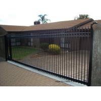 Wholesale Countryard Driveway Sliding Gate 1.8m*2.4m , Black Powder Coated Finished from china suppliers
