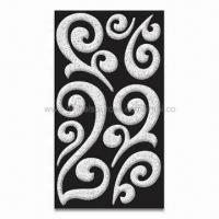 Wholesale 3D Puffy Flourish Stickers, Safe and Non-toxic, Suitable for Children from china suppliers