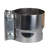 China Tube 3 Inch Lap Joint Band Exhaust Clamp CNC Laser Cutting Processing on sale