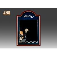 Wholesale Black Wooden Wall Mounted Chalkboards Framed Menu Board For Restaurant from china suppliers