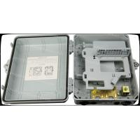 Wholesale Outdoor 24 fibers plastic housing Fiber optic distribution box from china suppliers