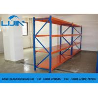 Buy cheap Durable Metal Light Duty Racking Loading Capacity 100~300kg / Layer from wholesalers