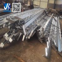 Quality Prefabricated steel metal working platform with steel staircase for sale