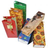 Wholesale Glossy lamination 210gsm coated colorful Printed Paper Carrier Bags with cotton Handle from china suppliers