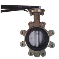 Wholesale DN80 PN20 Wafer Type Butterfly Valve Aluminium Bronze Lug Type Butterfly Valve from china suppliers