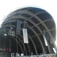Buy cheap 300x300mm bolt / stage / strong capacity aluminum stage box truss and display from wholesalers