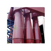 China Red Cyclone Dust Separator Collector / Cement Dust Collector Filter Long Using Life on sale