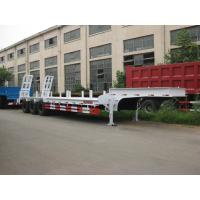 High strength steel payload low bed semi trailer with full braking and