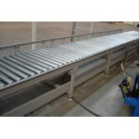 Wholesale Flexible Gravity Roller Bed Conveyor , Lineshaft Pallet Roller Conveyor Fire Resistant from china suppliers