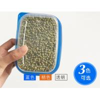 China Plastic Dry Food Disposable Plastic Containers , Flip Top Cereal Keeper Container on sale
