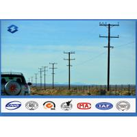 Wholesale Steel Column Electric Transmission Line Electric Utility Pole With Material Q345 ASTM A572 Gr50 from china suppliers