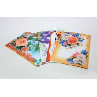 Wholesale Custom Gloss Artpaper Postcard Book Printing Services , Foil Stamping Embossing from china suppliers