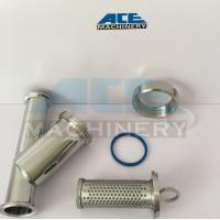China DIN/SMS/3A Sanitary Stainless Steel 304/316L Y Type Welded/Clamped/Threaded Strainer on sale