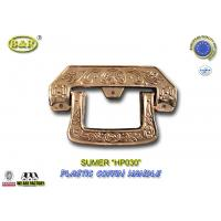 HP030 European style gold Plastic Coffin Handles For Coffin Decoration