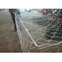 Wholesale Hot Dipped Galvanized Wire Gabion Baskets 2*1*0.5m Used In River Protection from china suppliers