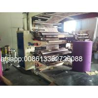 Wholesale Non Woven Fabric Flexo Printing Equipment 2 / 4 Color Printing Machine from china suppliers